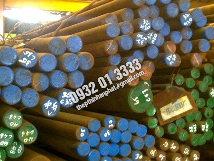 Láp tròn đặc SCM440, CT45, CT50, S45C, S50C, S55C, SCM435, SCR440