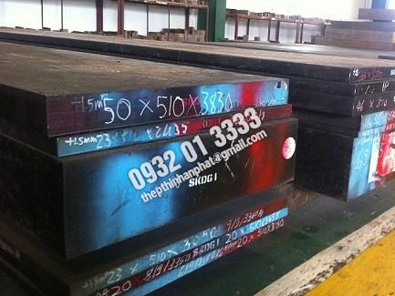 Thép tấm S45C, S50C, SUJ, S55C, S60C, SKD11, SKD61, 2083,