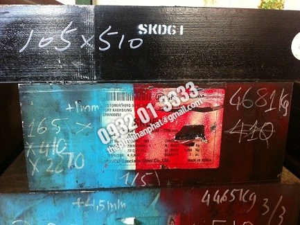 Thép tấm SKD11, SKD61, S45C, S50C, S55C, S60C, SUJ, 2083
